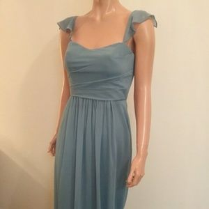 Blue Bridesmaid/Formal Occasion Dress Size 4